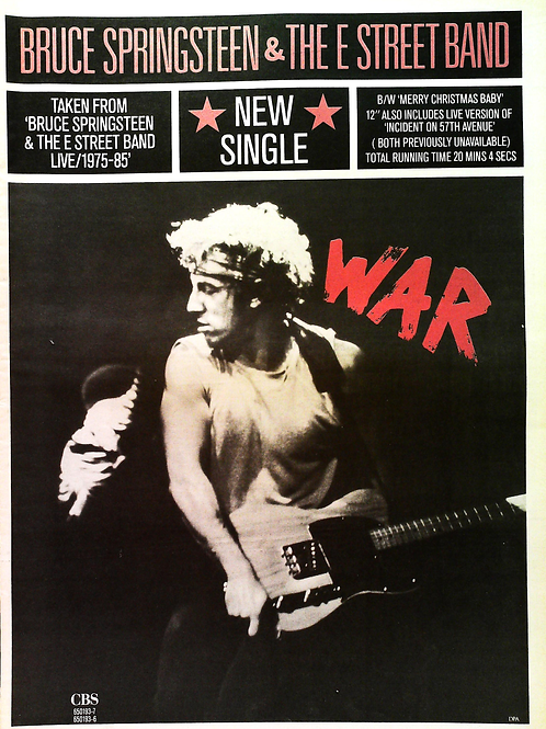 Bruce Springsteen - War