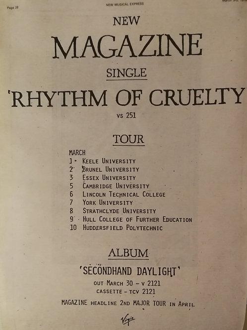 Magazine - Rhythm Of Cruelty