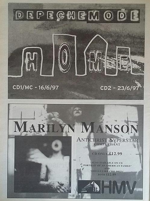 Depeche Mode / Marilyn Manson - Home / Antichrist Superstar