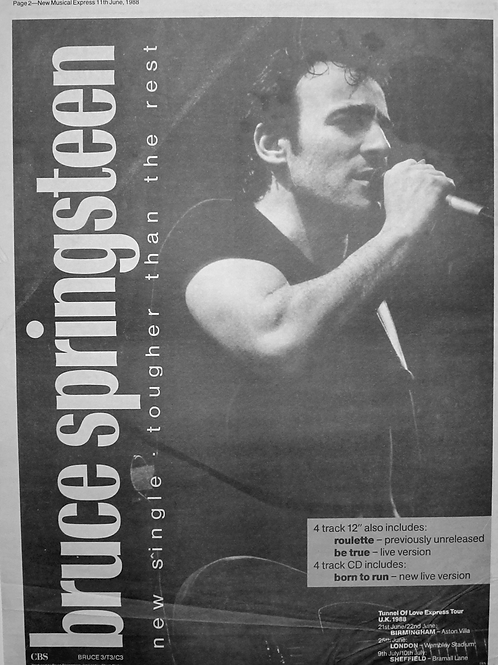 Bruce Springsteen – Tougher Than The Rest