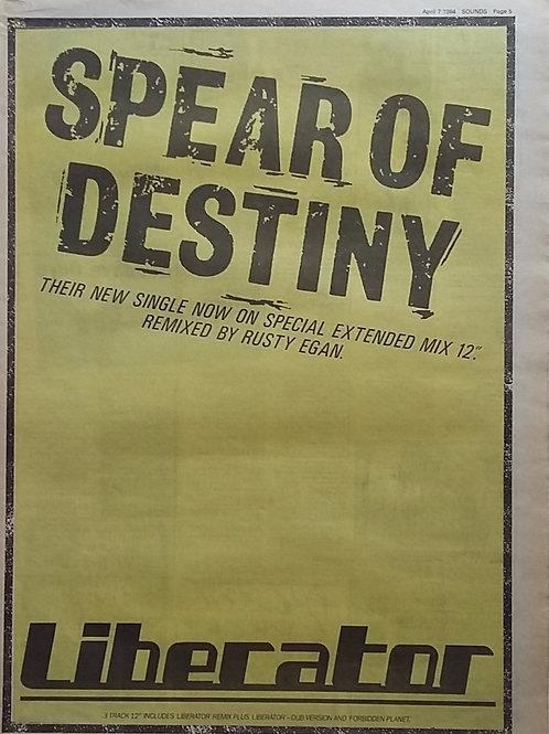 Spear Of Destiny – Liberator
