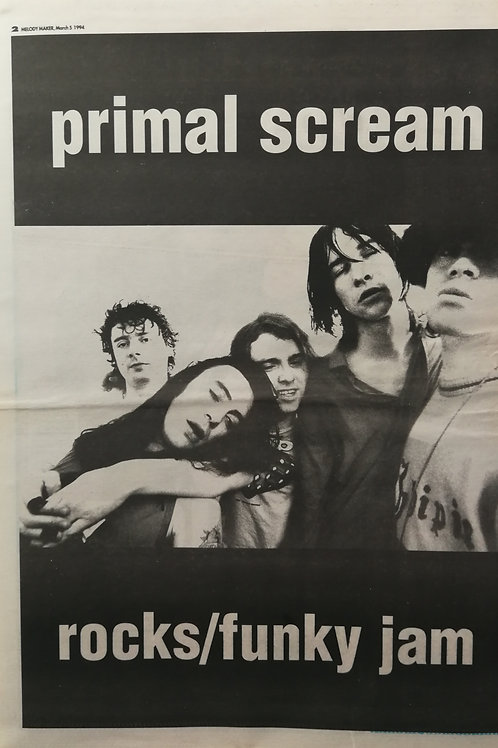 Primal Scream - Rocks / Funky Jeam