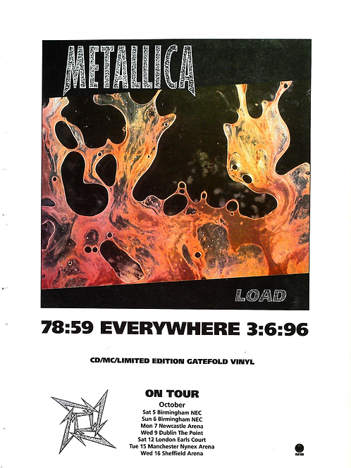 Metallica - Load On Tour