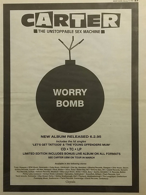 Carter The Unstoppable Sex Machine – Worry Bomb