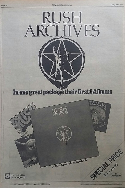 Rush - Archives