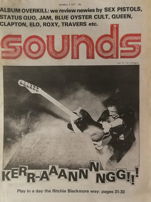 Sounds - Ritchie Blackmore