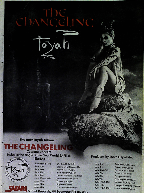 Toyah – The Changeling