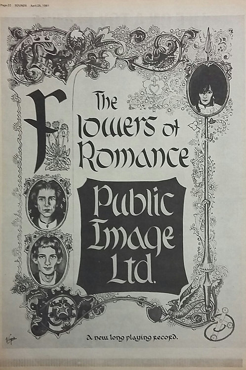 Public Image Ltd - The Flowers Of Romance