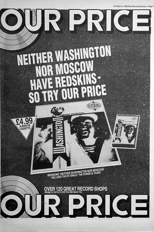 Redskins ‎– Neither Washington Nor Moscow