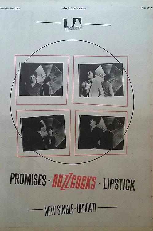 Buzzcocks – Promises