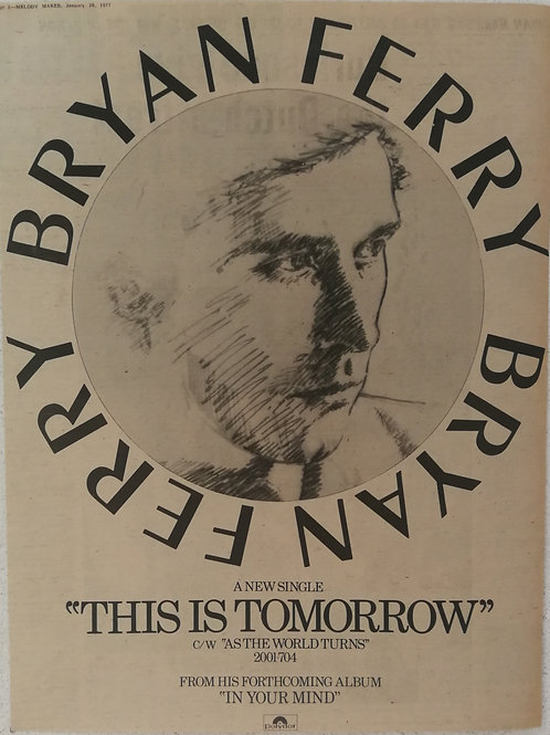 Brian Ferry - This Is Tomorrow