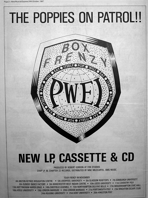 Pwei - The Poppies On Patrol!!