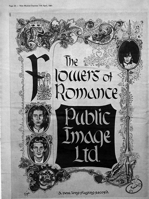 Public Image Ltd. – The Flowers Of Romance