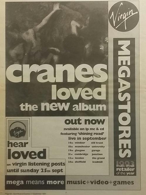 Cranes – Loved