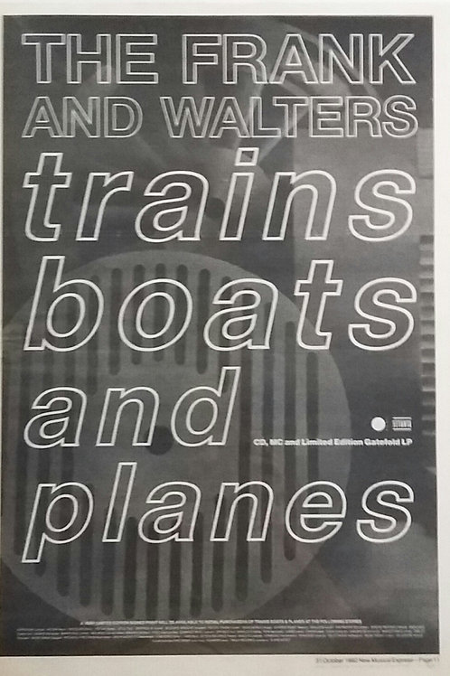 The Frank And Walters ‎– Trains, Boats And Planes