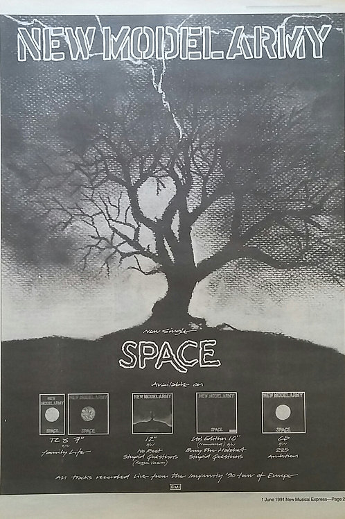 New Model Army - Space