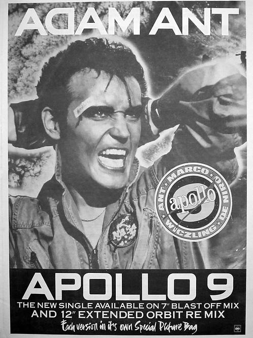 Adam Ant – Apollo 9 (Blast Off Mix)