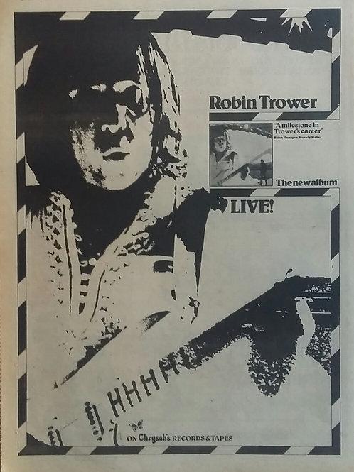 Robin Trower - Live !