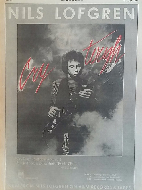 Nils Lofgren ‎– Cry Tough