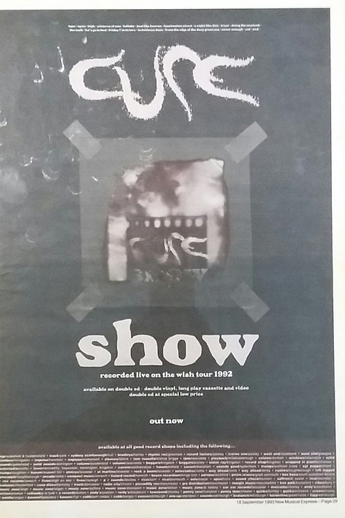 Cure - Show