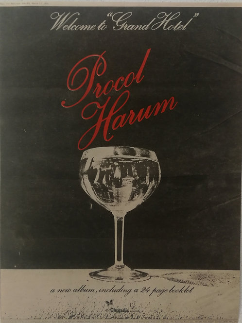 Procol Harum - Welcome To Grand Hotel