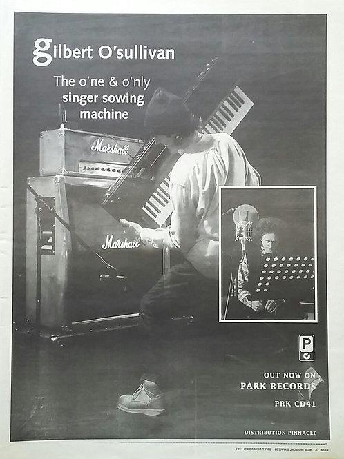Gilbert O'Sullivan – Singer Sowing Machine