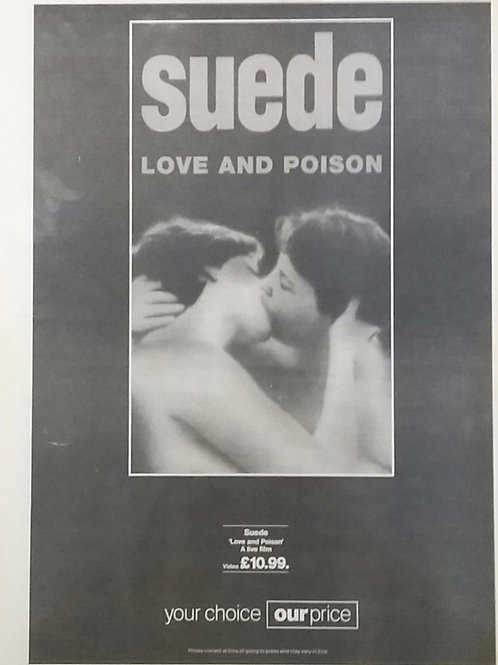 Suede - Love And Poison