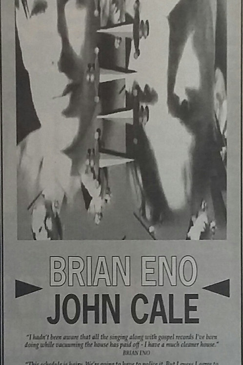 Brian Eno / John Cale - Wrong Way Up