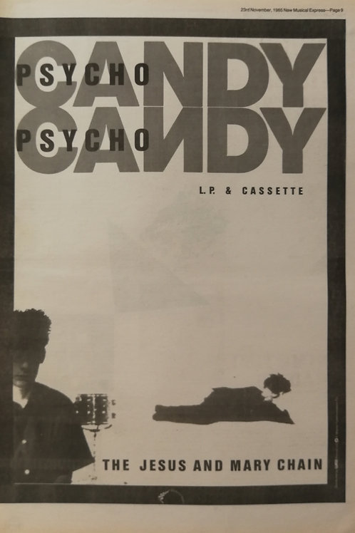The Jesus And Mary Chain ‎– Psychocandy