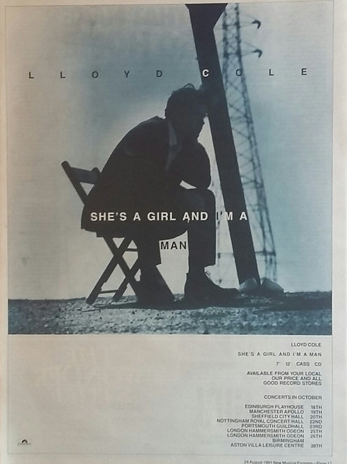 Lloyd Cole - She's A Girl And I'm A Man