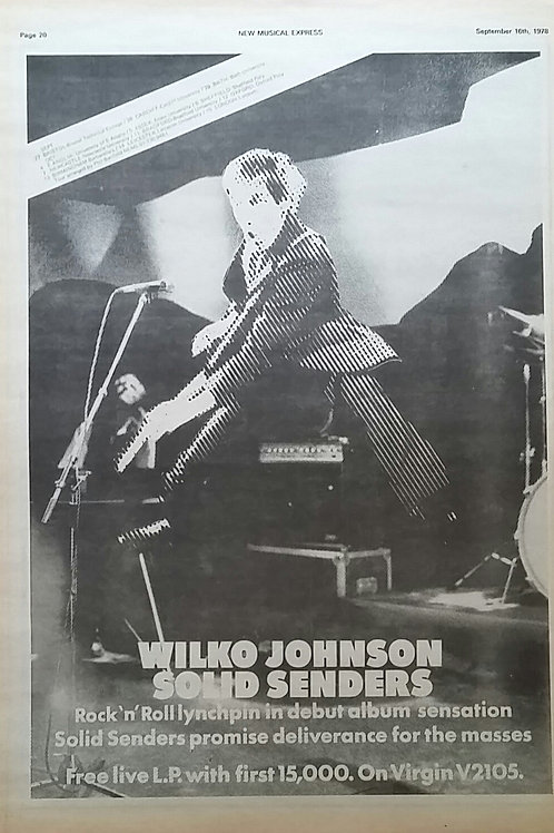 Wilko Johnson - Solid Senders