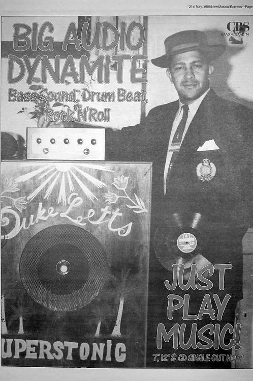 Big Audio Dynamite - Just Play Music!