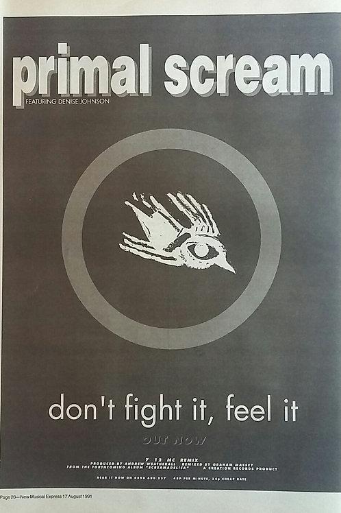 Primal Scream - Don't Fight It, Feel It