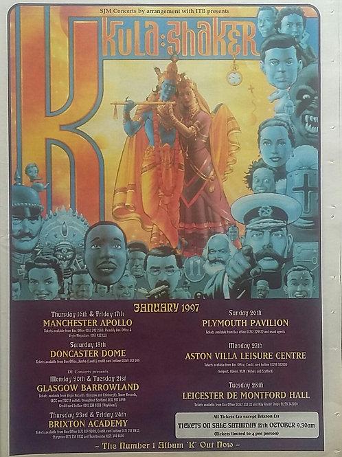Kula Shaker - Concerts