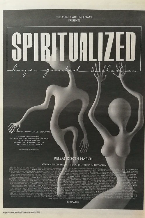 Spiritualized ‎– Lazer Guided Melodies