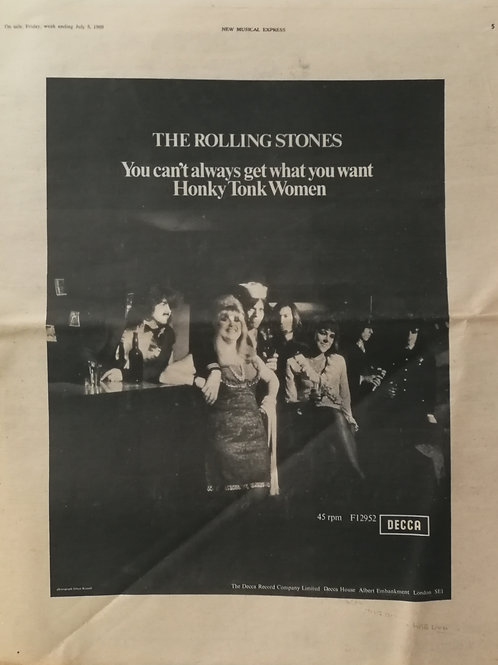 Rolling Stones - You Can't Always Get What You Want