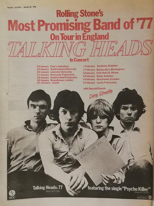 Talking Heads - On Tour