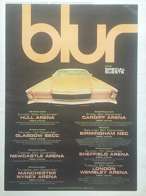 Blur - Tour