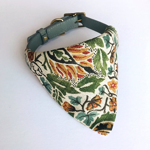 Morris & Co Little Chintz Olive Bandana (medium)