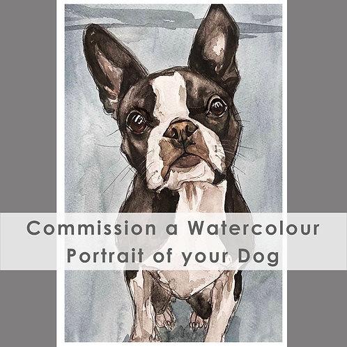 Watercolour Commissioned Portrait