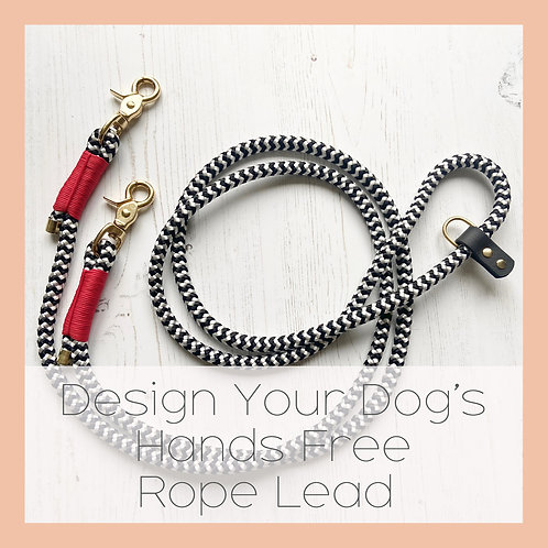Design Your Hands Free Dog Lead