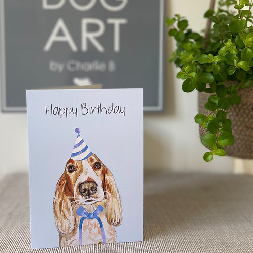Cocker Spaniel Cards x5