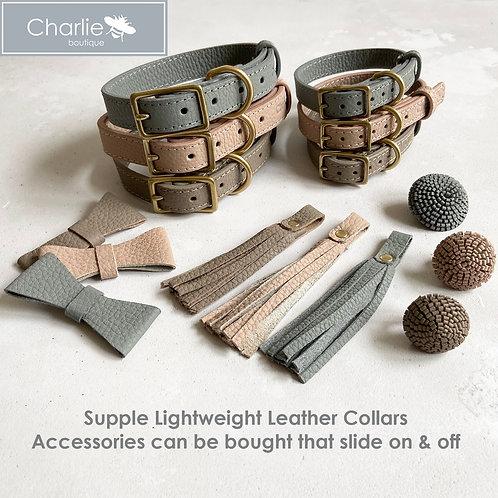 Customisable Leather Collar