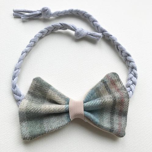 Large Tweed Bow/Dickie bow