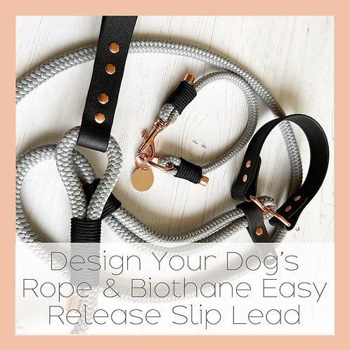 Design your quick release slip lead