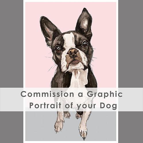 Graphic Commissioned Portrait