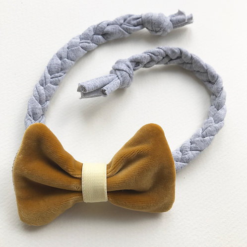 Medium Mustard Bow/Dickie bow