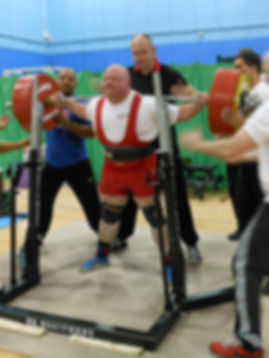 English Powerlifting Association - Dean Bowring.