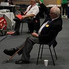 English Powerlifting Association Sponsorship Secretary Fred McKenzie