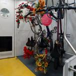 Porata biciclette sul treno Milano-Bergamo